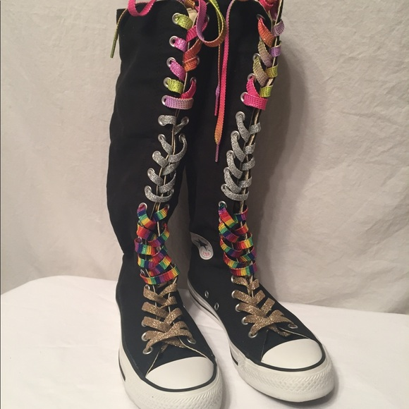 0a1b6145c78 Converse Shoes - cool converse chuck Taylor knee high sneakers
